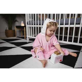Serviette poncho Penny Le Pingouin Rose Tommee Tippee