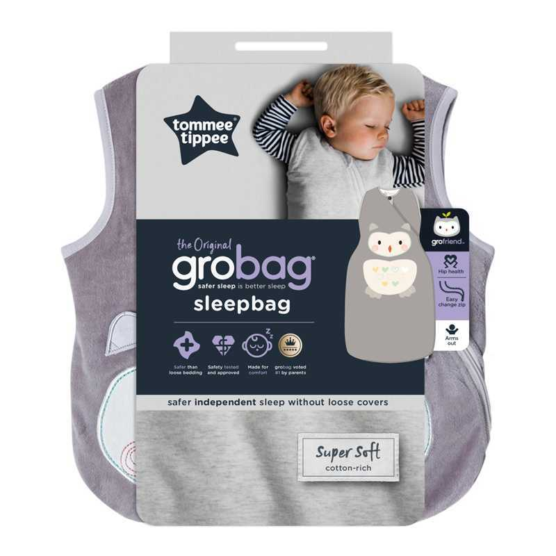 Sac de couchage 1 TOG Ollie la chouette 6-18m Tommee Tippee