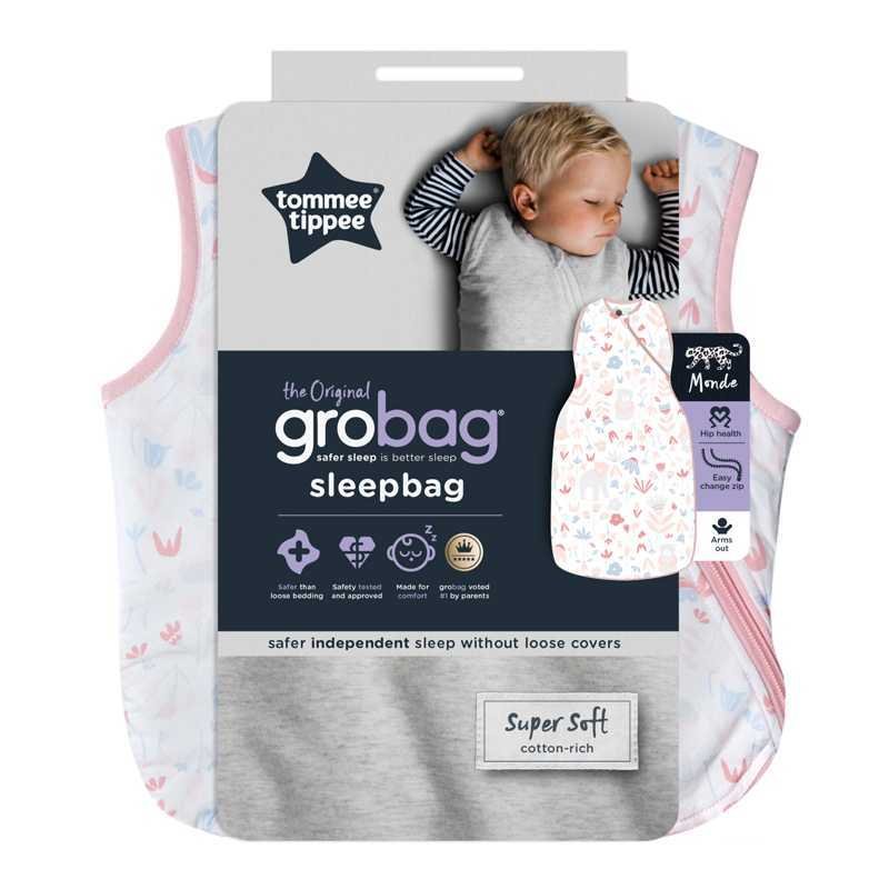 Sac de Couchage Grobag 1 TOG Fôret Florale 18-36m Tommee Tippee
