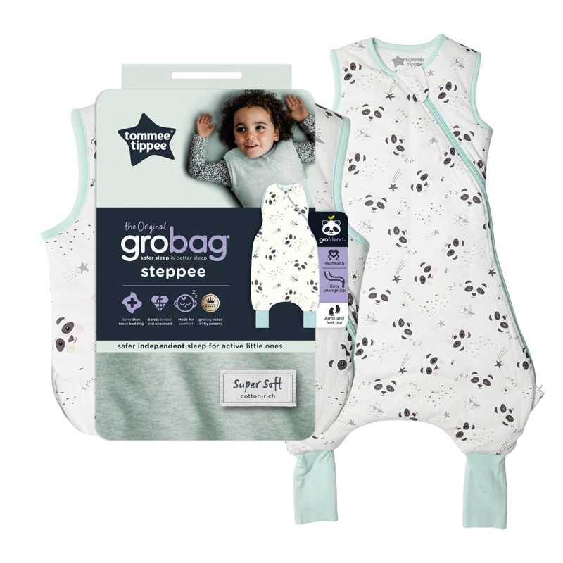 Sac De Couchage Grobag Steppee 1 TOG Petit Panda 18-36m Tommee Tippee