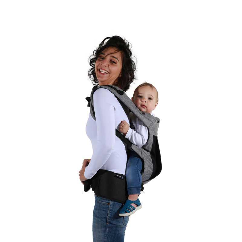 Porte bébé Physionest Noir Chic Safety 1ST