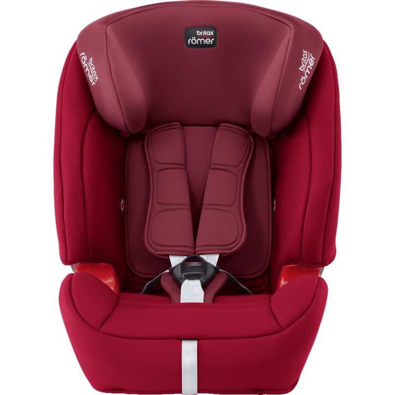 Siège auto Evolva Groupe 1/2/3 Plus Britax Flame Red – Rouge