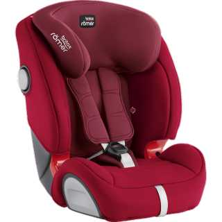 Siège auto Evolva Groupe 1/2/3 Plus Britax Flame Red – Rouge