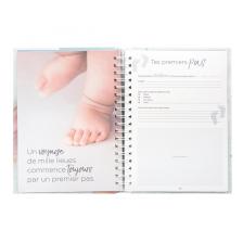 Livre de naissance 100 pages Bleu