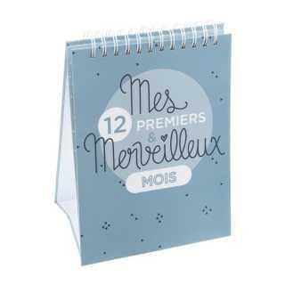 Album Mes premiers 12 mois Bleu