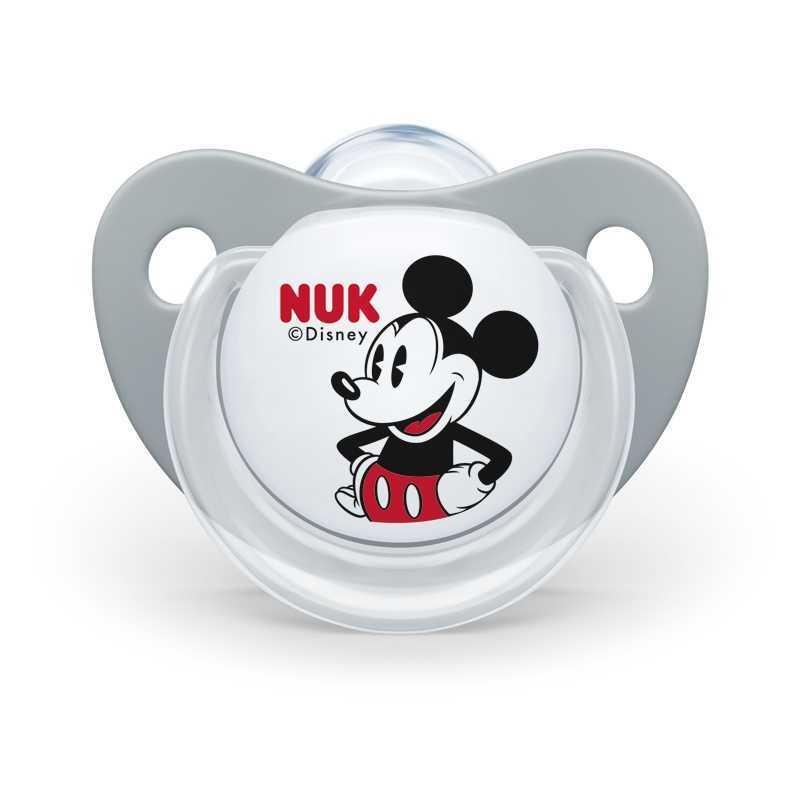 Lot de 2 sucettes orthodontiques Mickey Mouse 6-18 mois