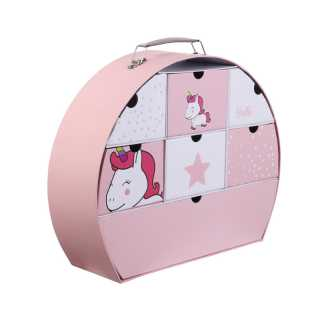 Valisette de souvenirs Rose Home Deco Kids
