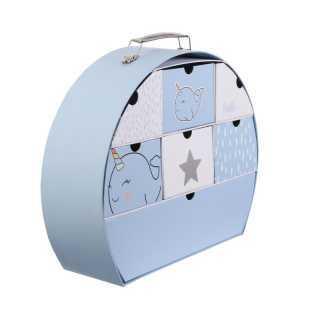 Valisette de souvenirs Bleu Home Deco Kids