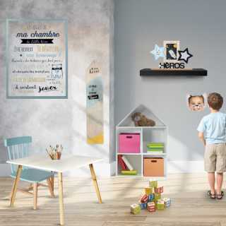 Les regles de la chambre garçon Home Deco Kids