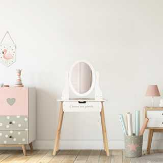 Coiffeuse enfant Louise Home Deco Kids