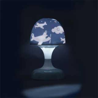 Lampe - Veilleuse Champignon Tactile Tom et Zoé - Gris