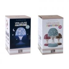 Lampe - Veilleuse Champignon Tactile Tom et Zoé - Rose