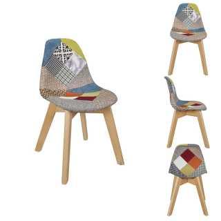 Chaise patchwork enfant Home Deco factory
