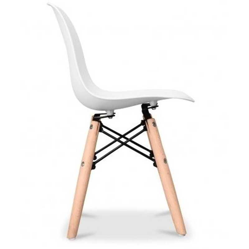 Chaise blanche pour enfant Judy Wild
