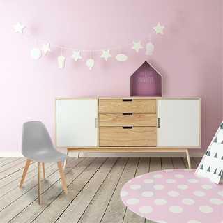 Chaise scandinave enfant coque Gris Home Deco Factory