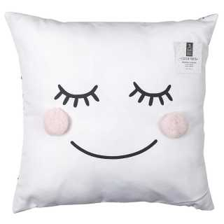 Coussin pompons fille Home Deco Kids
