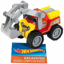 Tractopelle Hot Wheels