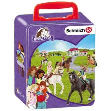 Mallette de rangement 10 chevaux Schleich Horse Club