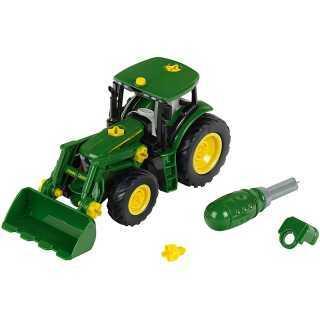 Tracteur avec chargeur frontal John Deere