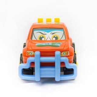 Vehicule pick up 1er age Bleu 24cm