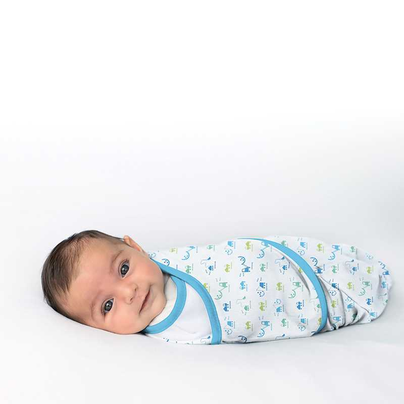 Gigoteuse bebe Swaddle me Luxe 0-3 mois Summer Infant