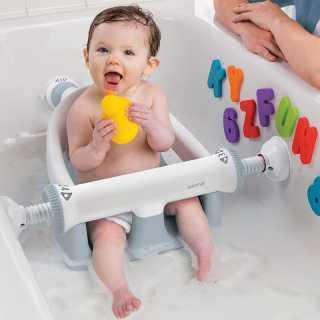 Siège de bain bébé Gris Summer Infant