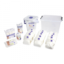 Kit premium de la naissance à la propreté Blanc MIOSOLO