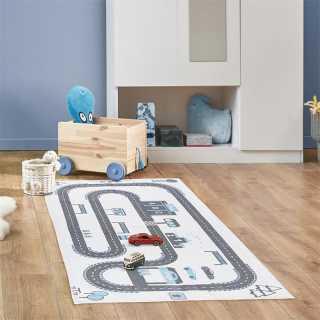 Tapis enfant circuit 140x70 Home Deco Kids