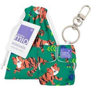 Porte clé couche MINISOLO Tigre Tango