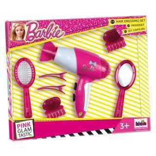 Coffret coiffure avec sèche cheveux Barbie
