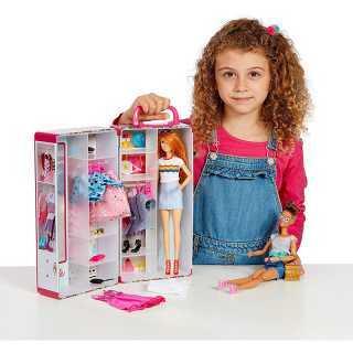 Mallette armoire Barbie