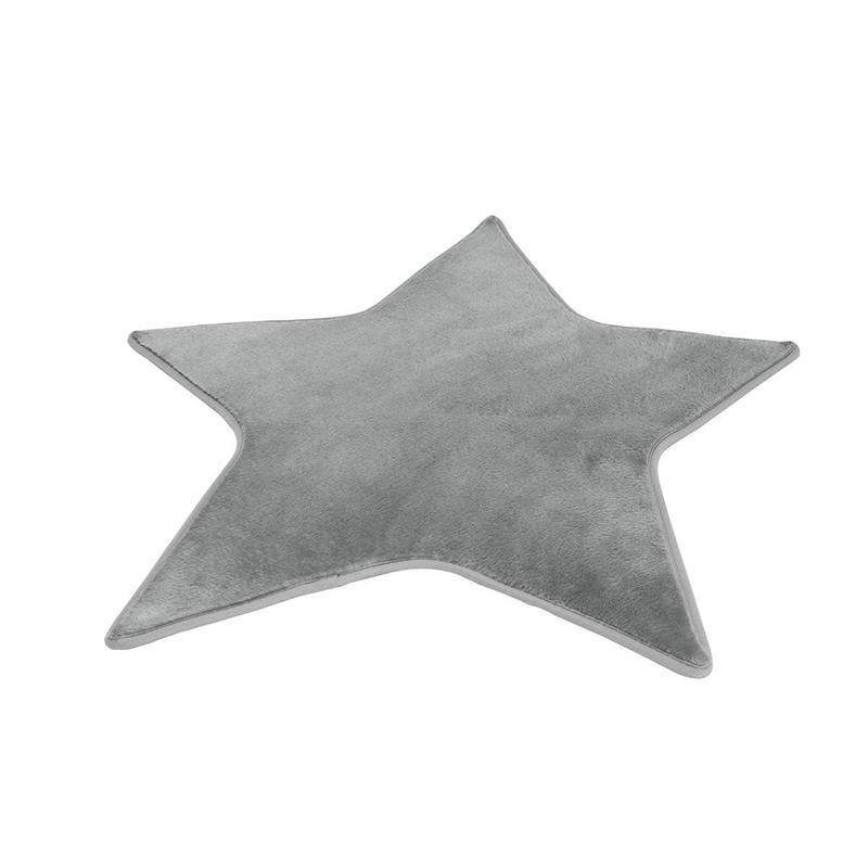 Tapis enfants étoile Gris Atmosphera for kids