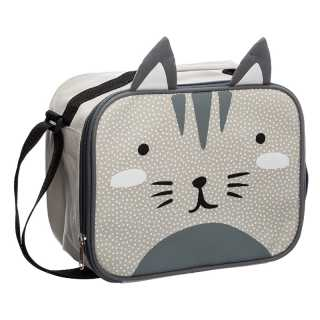Sac isotherme enfant Chat Gris Atmosphera