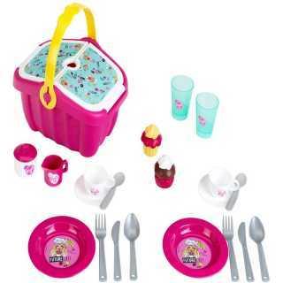 Panier repas avec accessoires Barbie