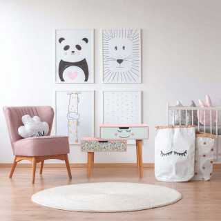 Chevet enfant en bois Liberty ROSE Home Deco Kids