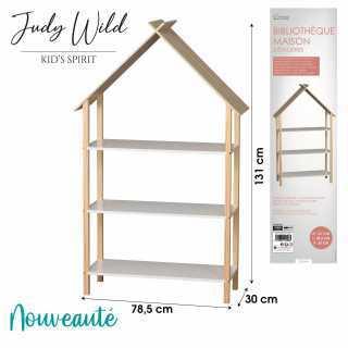 Bibliotheque design maison Judy Wild