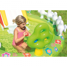 Aire de jeux Mon Jardin 290 x 180 x 104 Intex