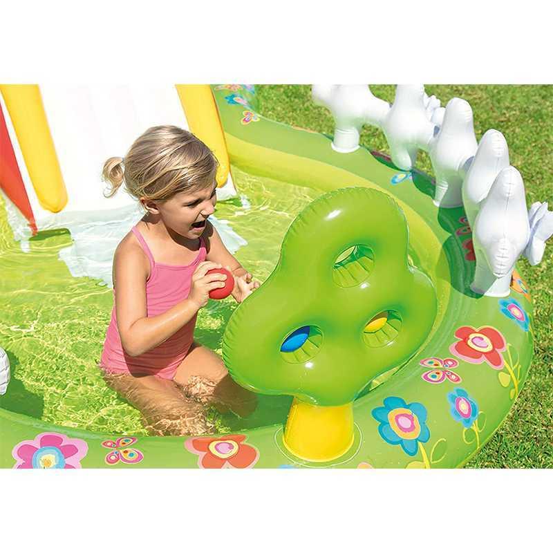 Aire de jeux Mon Jardin 290 x 180 x 104 cm Intex