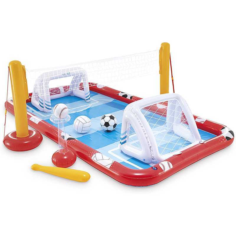 Aire de jeux gonflable multi sports Intex