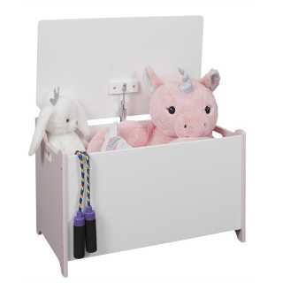 Coffre à jouets Moon Blanc Home Deco Kids