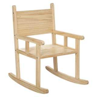 Chaise à bascule en bois Atmosphera