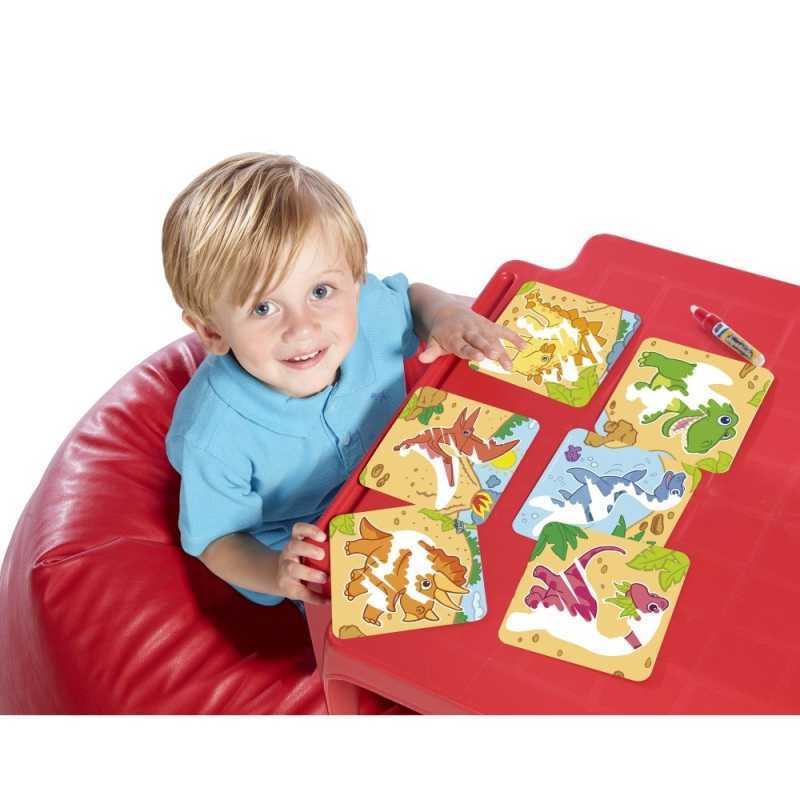 Mini Tapis de Dessin Dino ou Zoo Tomy