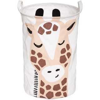 Bac de rangement Girafe Blanc Atmosphera