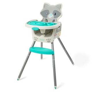 Chaise haute 4 en 1 Raton Laveur Infantino