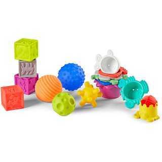 Coffret balles, cubes et gobelets Infantino