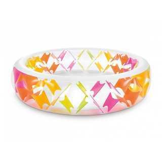 Piscinette Croisillons Multicolore Intex