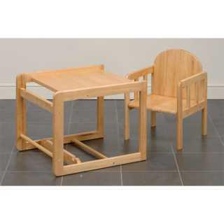 Chaise haute 2 en 1 en bois East Coast Nursery