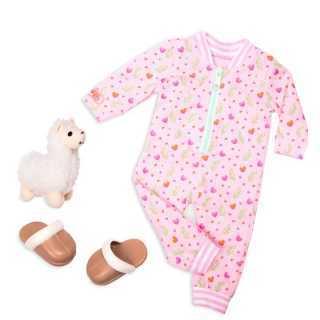 Tenue ensemble pyjama Lama Our Generation