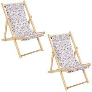 Lot de 2 chaises Pliantes Enfant Liberty Home Deco Kids