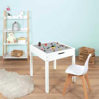 Table avec rangements compatible brique Home Deco Kids